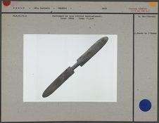 Instrument de bois utilisé verticalement
