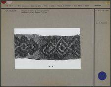 Fragment de bande de tissu