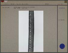 Ceinture en tissu polychrome