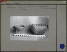 Bol et vase en céramique