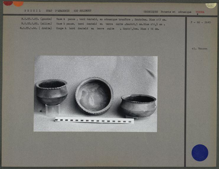 Vases en céramique
