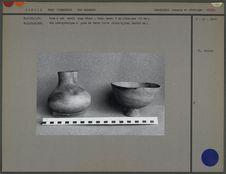 Vase et bol en céramique