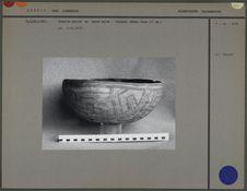 Ecuelle en céramique peinte