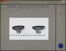 Ecuelles en terre cuite (face externe)