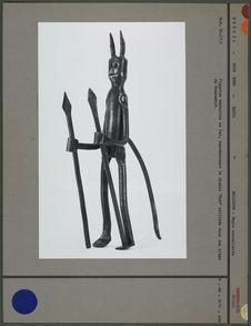 Figurine représentant le diable Exu