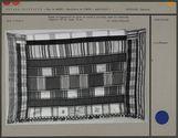 Pagne rectangulaire en tissu de coton à carreaux