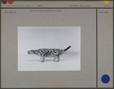 Jouet en céramique : jaguar