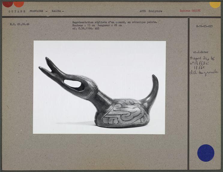 Représentation stylisée d'un canard