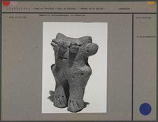 Statuette anthropomorphe en céramique