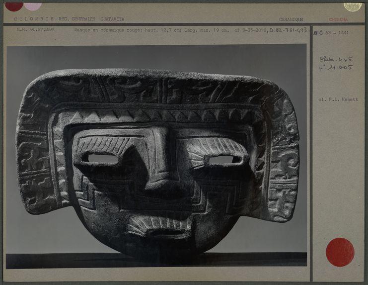 Masque en céramique