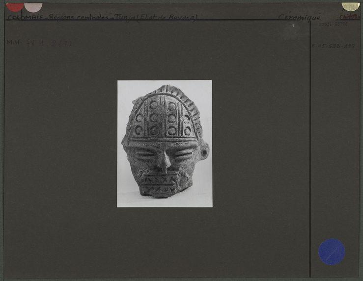 Fragment de poterie chibcha