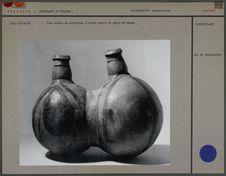 Vase double en céramique