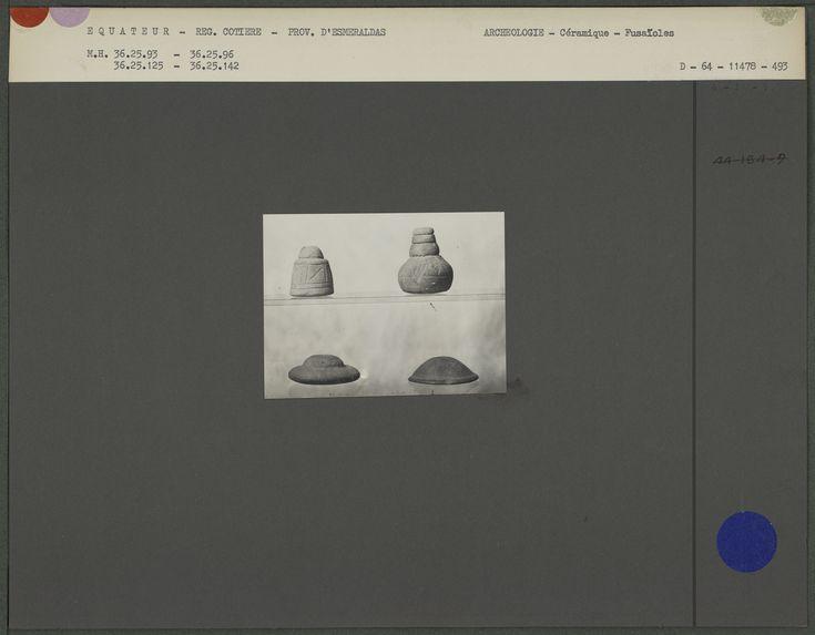 Fusaïoles gravées en céramique