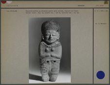 Statuette-sifflet en céramique