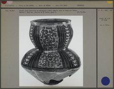 Grande jarre funéraire en céramique