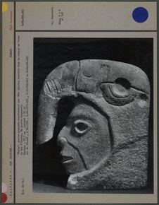 """Palma"" en pierre sculptée"
