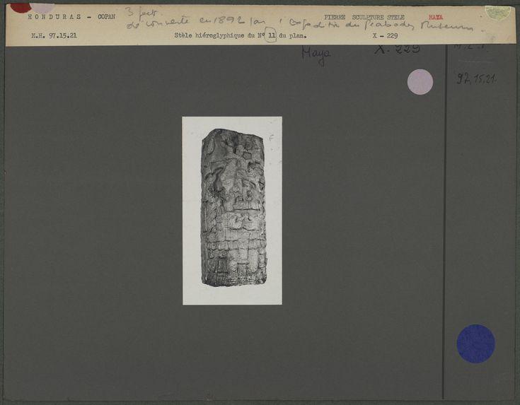 Stèle hiéroglyphique