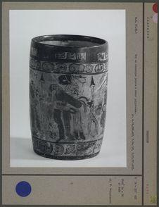 Bol maya en céramique peinte