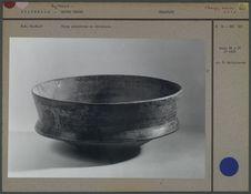 Coupe maya polychrome en céramique