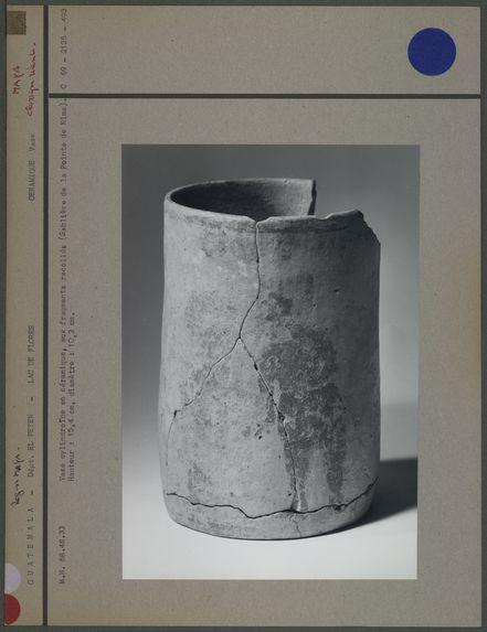 Vase cylindroïde en céramique