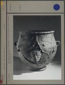 Urne funéraire en céramique beige