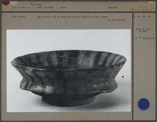 Bol maya à rebord basal en céramique