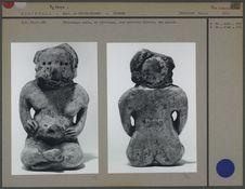 Statue en céramique