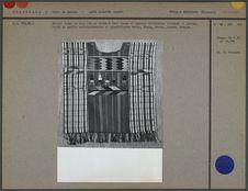 Huipil formé de deux lés en coton
