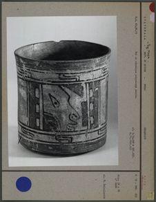 Bol maya en céramique