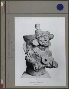 Haut de vase en céramique