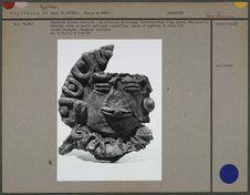 Couvercle d'urne funéraire, en céramique
