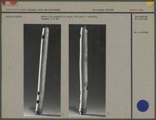 Flûte à bec rapporté en roseau à 2 trous
