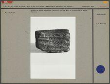 Battoir en pierre volcanique : papier d'écorce