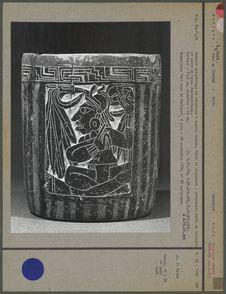 Gobelet cylindrique en céramique