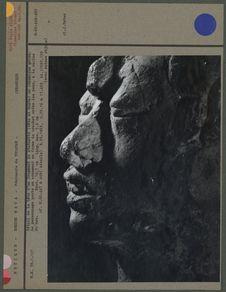 Tête de statuette maya