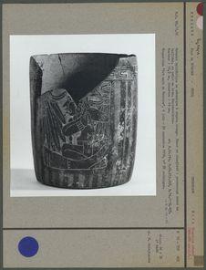 Bol maya en céramique à décor polychrome