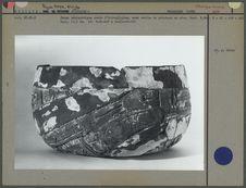 Céramique, coupe ornée d'hiéroglyphes