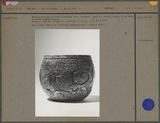 Vase en céramique de forme globulaire