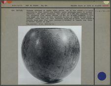 Calebasse globuleuse de couleur brune
