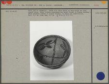 Petit bol en céramique, ornée d'un décor