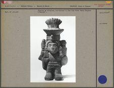 Figurine en céramique, Dieu Xipe Totec