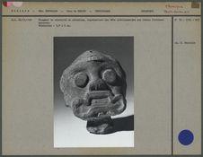 Fragment de statuette en céramique