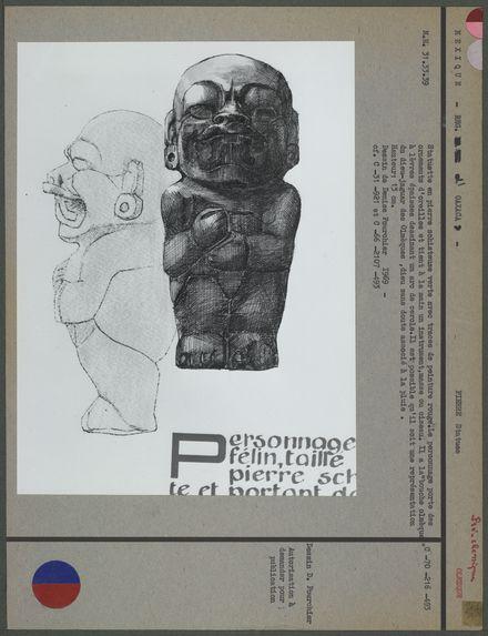 Statuette en pierre