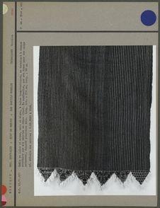 Châle en laine et coton, Otomi