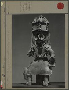 Statue représentant le dieu Tlaloc
