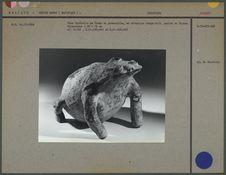 Vase funéraire en forme de grenouille