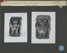 Statuette aztèque en céramique