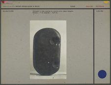 Plaque pierre dure avec deux cupules