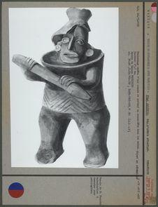 Statuette en céramique