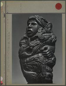 Statue représentant le dieu Quetzalcoatl